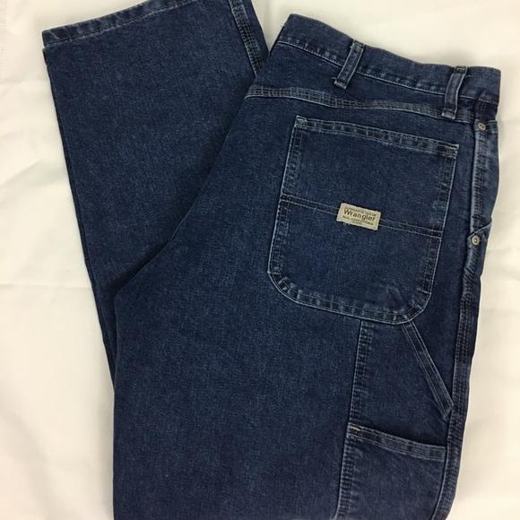 c73d277d Wrangler Carpenter Jeans Pants 36X32 Blue Denim. M_5aa869869a945572a5c59864
